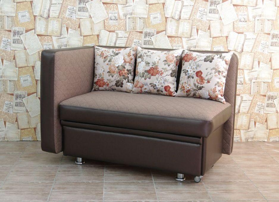 диван с боковой стенкой со спальным местом для кухни