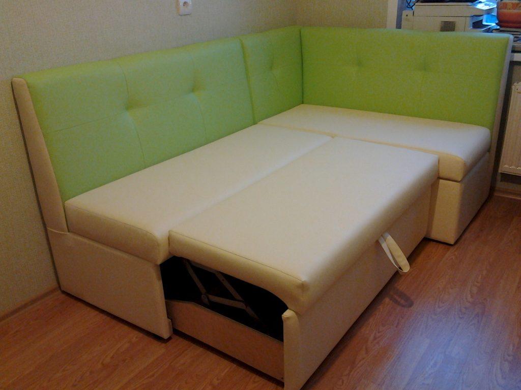 диван раскладной со спальным местом для кухни