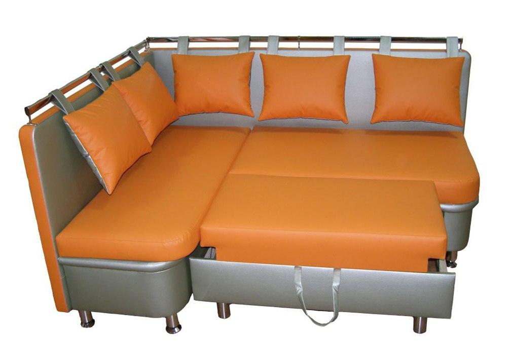 диван со спальным местом для кухни
