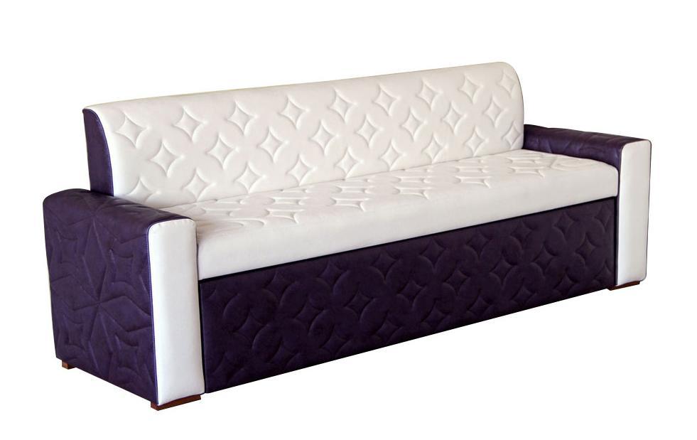 диван прямой со спальным местом для кухни
