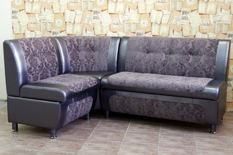 угловой диван со спальным местом для кухни