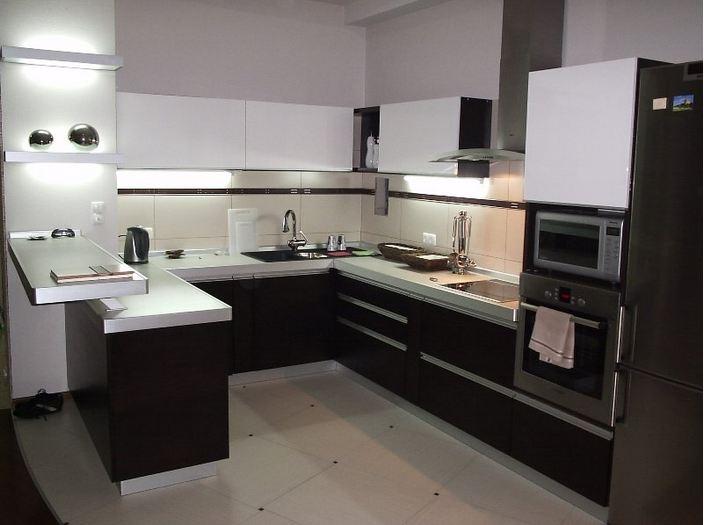 П-образная кухня 11 кв.м.