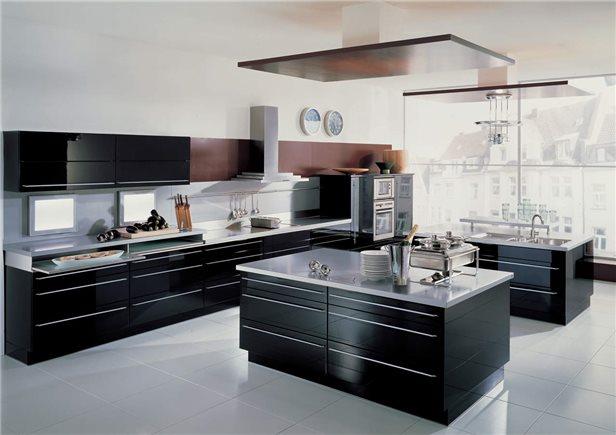 кухня 13 кв. метров с островной рабочей зоной