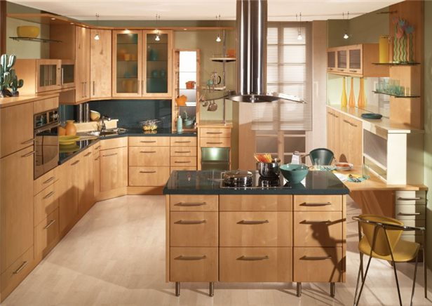 классическая кухня 13 кв. метров