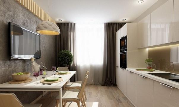 дизайн кухни 13 кв. м