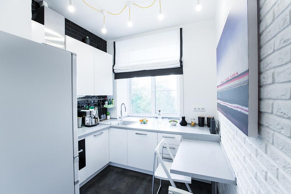 Кухня дизайн 7 кв.м