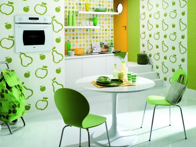 зелёная посуда