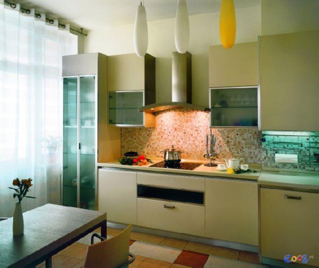 зелёный на современной кухне