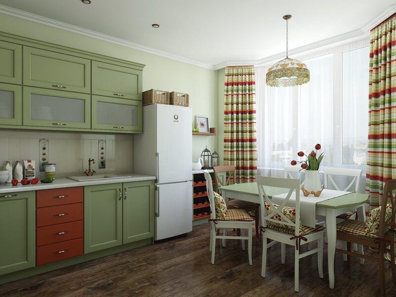 оливковая кухня