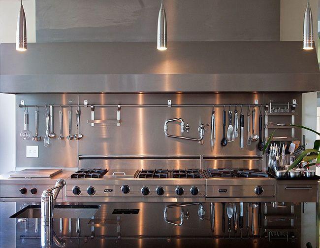 Техно-стиль на кухне