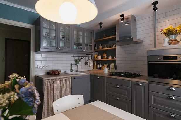 кантри на кухне 10 м