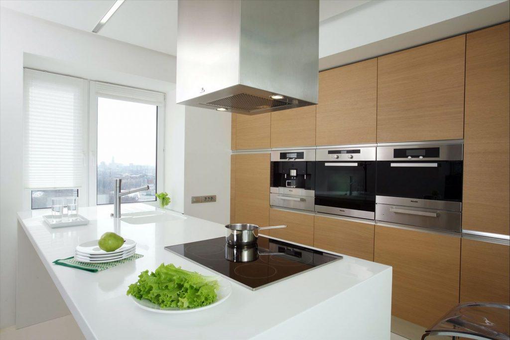 Дизайн кухни 10 кв м минимализм