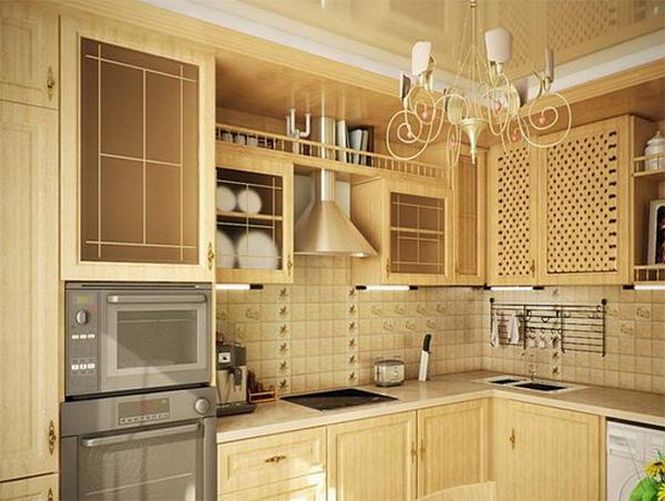 классическая кухня 10 кв.м
