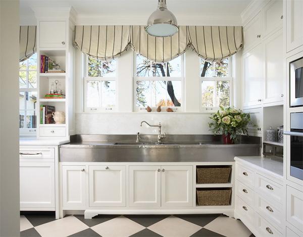 кухня 10 кв.м в стиле прованс