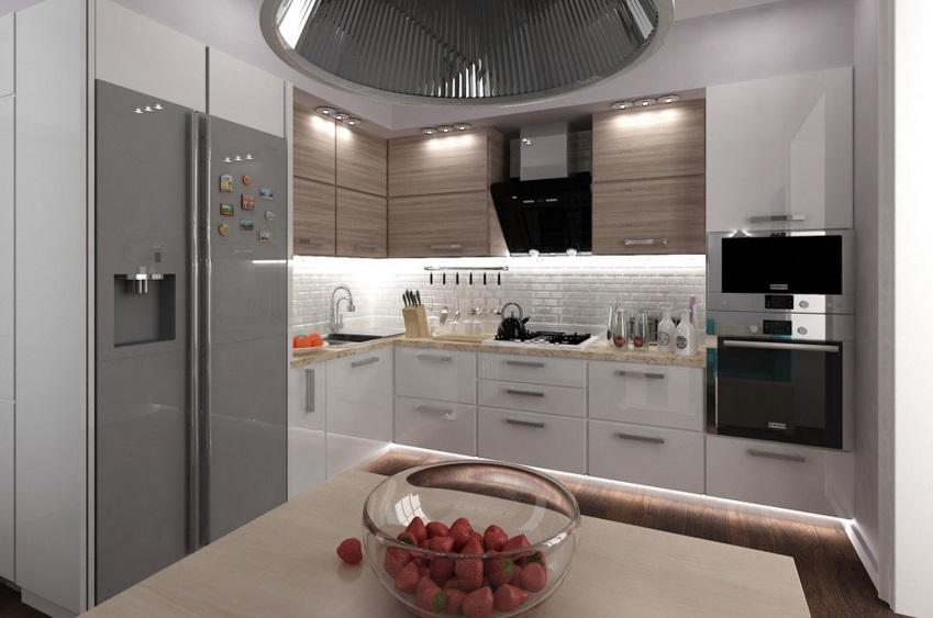 техника на кухне 10 кв.м.