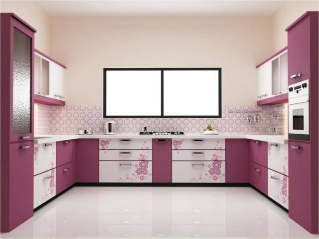 П-образная кухня 3 на 3 метра