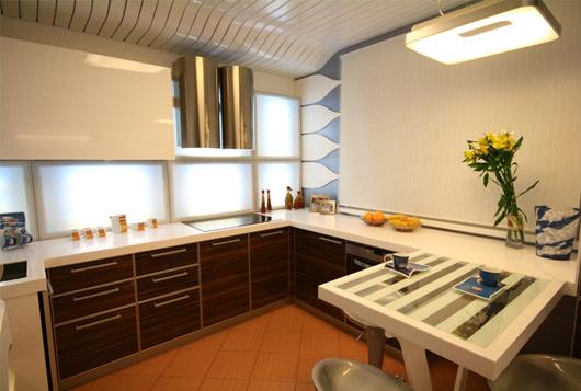 Г-образная кухня 3 на 3 метра