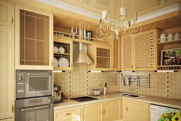 кухня 3 на 3 метра в стиле прованс