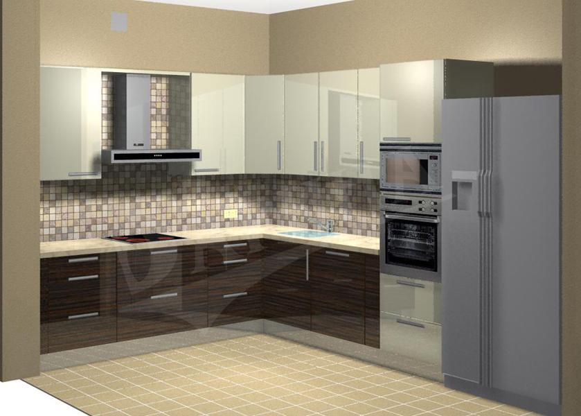 угловая кухня 3 на 3 метра