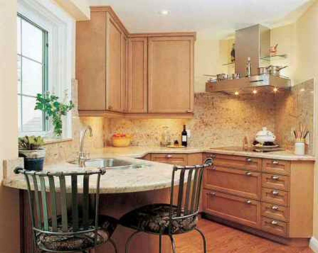 деревянная кухня 3 на 3
