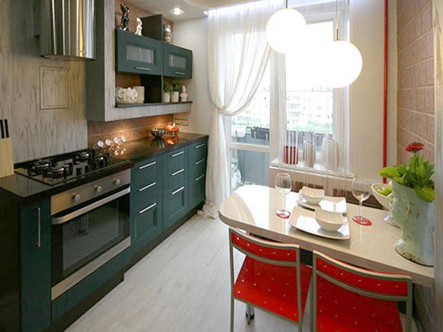 освещение на кухне 3 на 3