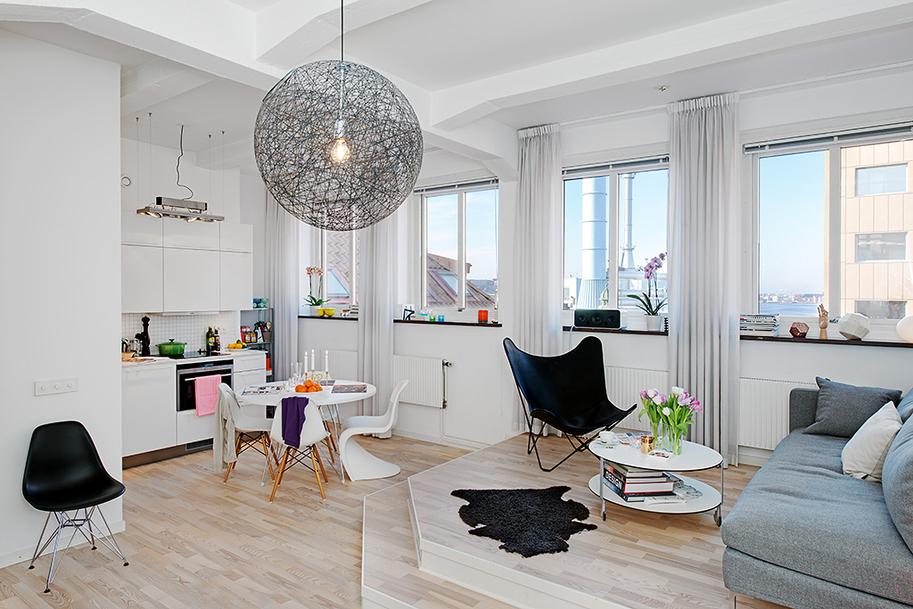 подиум на кухне 17 кв.м