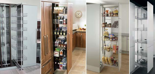 выдвижные системы для кухонных пеналов