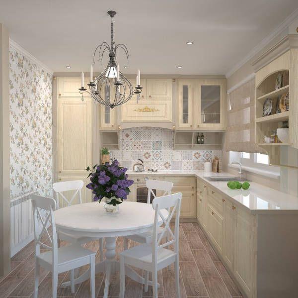 Кухня для маленькой кухни — реальные фото оформления дизайна интерьера