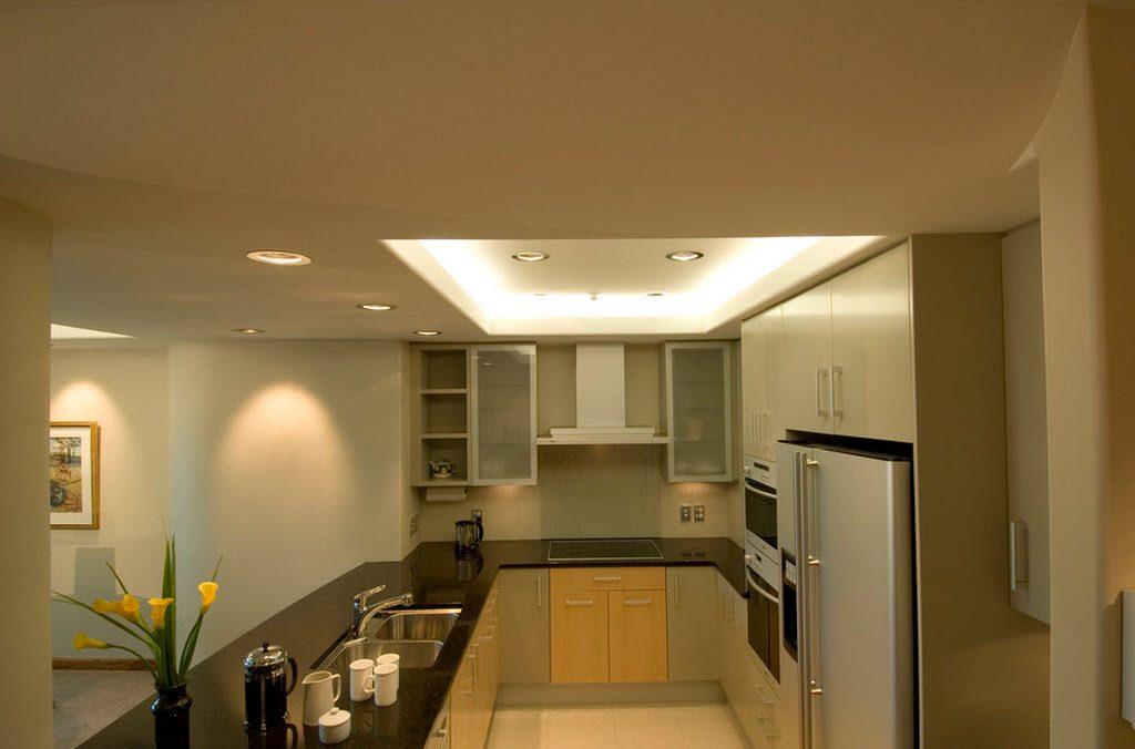 пастельная маленькая кухня