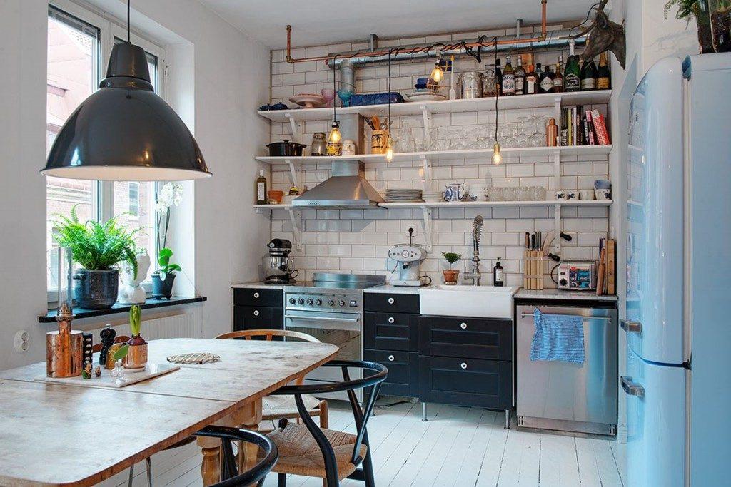 декор на скандинавской кухне