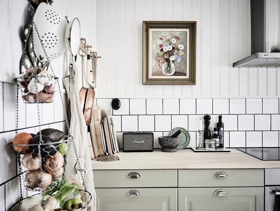 современные кухни в скандинавском стиле