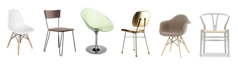 Обеденные стулья в минимализме