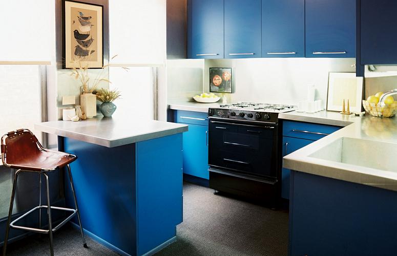 фото с изображением современного дизайна угловой кухни в стиле минимализм