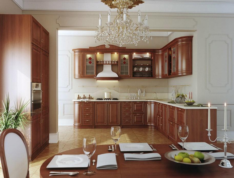 люстра для кухни классика