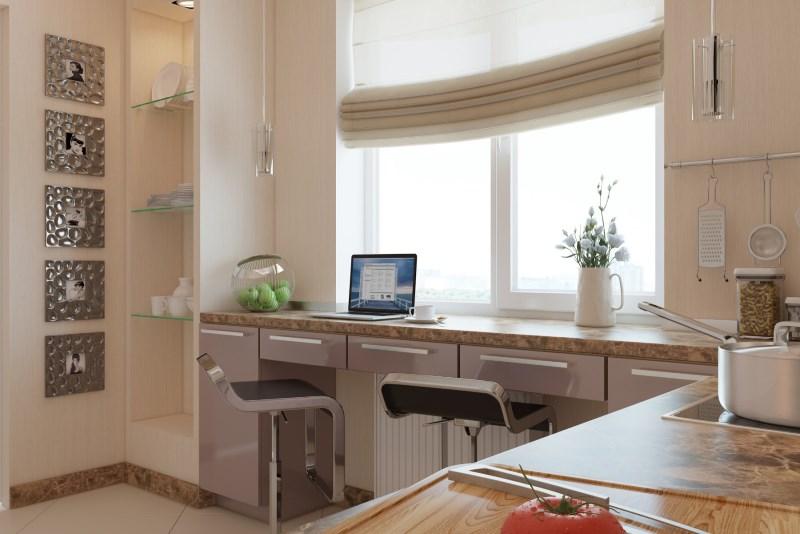 оптимальный вариант для маленьких кухонь
