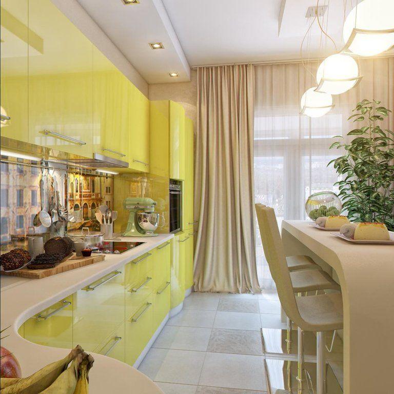 шторы для кухни 2017 в стиле хай тек