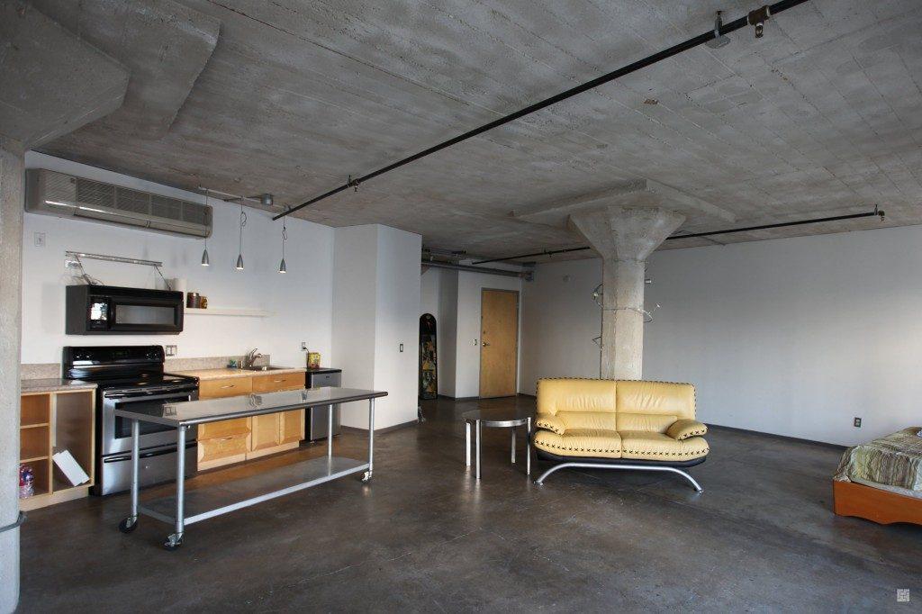 Дизайн интерьера на кухне в стиле лофт