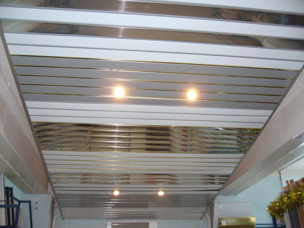 ПФХ потолок на кухне