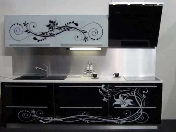 декор на кухне 3 метра