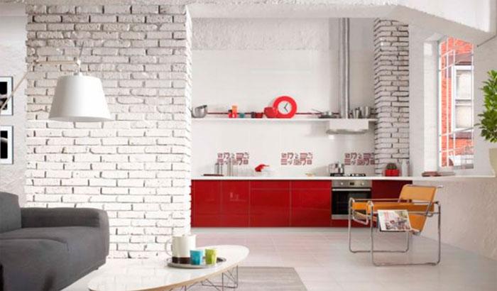 минимализм на кухне 3 метра