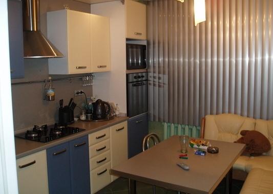 Прямой кухонный гарнитур 3 метра