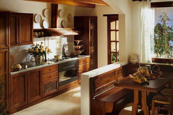 прованс на кухне 3 метра