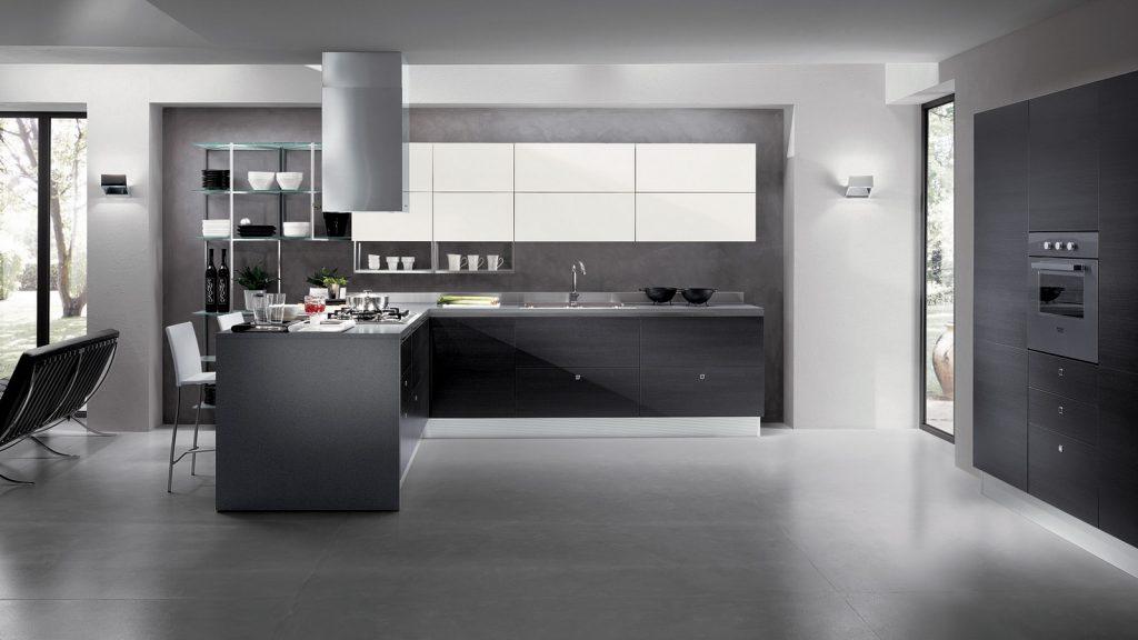на кухне 3 метра стиль лофт