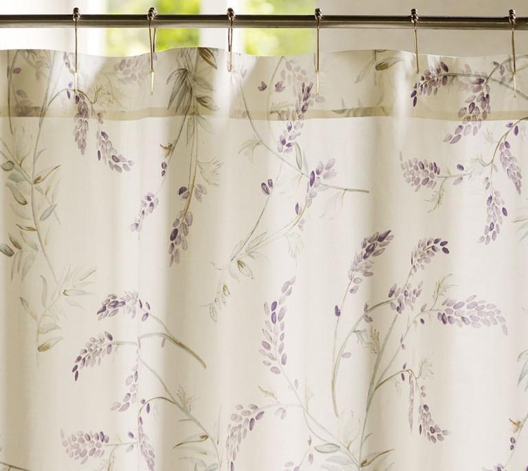 шторы с декоративными защёлками для кухни 2017