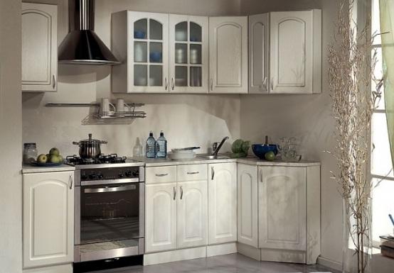 классика на угловой кухне