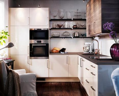 функциональная угловая кухня
