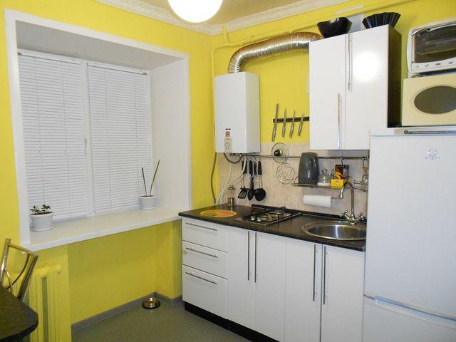 особой малогоборитные кухни с газовым котлом модели