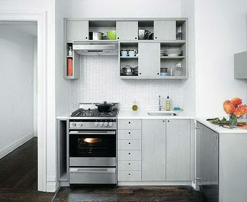 белая кухня 2 на 3 метра