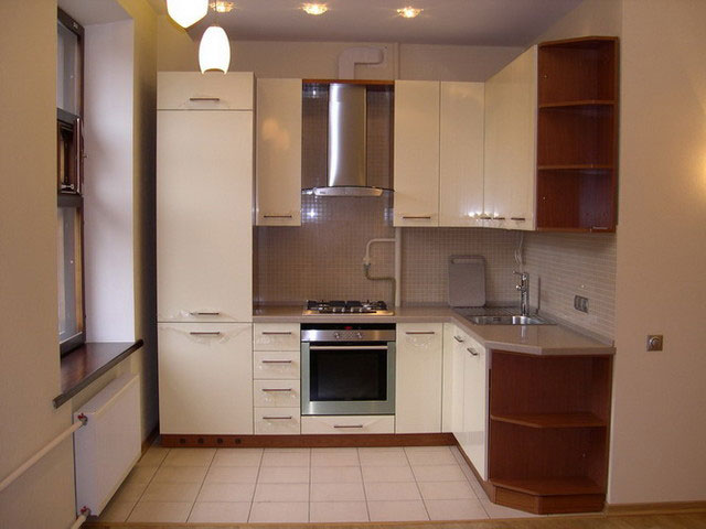 угловой гарнитур на кухне 2 на 3 метра