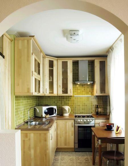 кухня 2 на 3